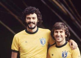 Zico i Socrates Espana'82