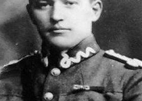 Cooper w mundurze polskiego lotnika